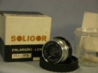 ' 50mm Boxed ' Soligor 50MM 3.5 Enlarger Lens Cased Boxed £9.99